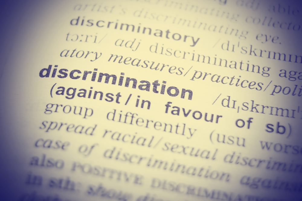 Discrimination definition in dictionary for reasonable adjustment